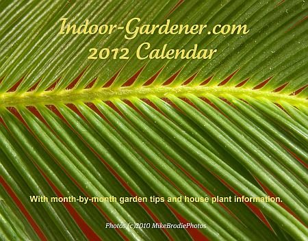 2012 Calendar from Indoor-Gardener.com
