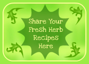 Recipes using fresh herbs