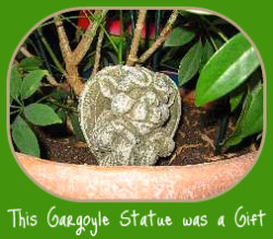 Gargoyle - one of many great indoor gardening gifts