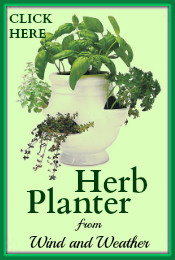 Herb Planter WindandWeather