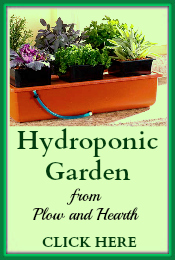 Hydroponic Garden PlowHearth