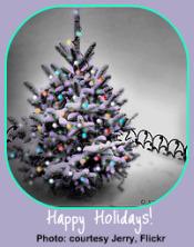 Winter Garden Calendar-Holiday Tree