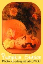 Halloween pumpkins join the Indoor Garden